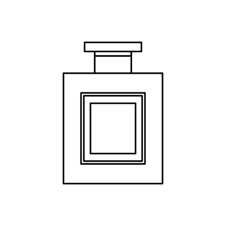 alcohol drink liquor bottle image vector illustration outline design  イラスト・ベクター素材