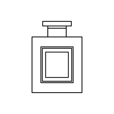 alcohol drink liquor bottle image vector illustration outline design Illustration