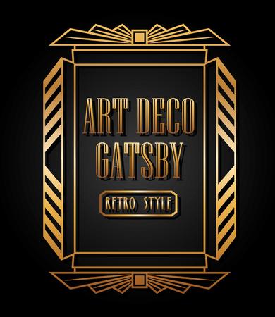 art deco element design, vector illustration eps10 graphic  일러스트
