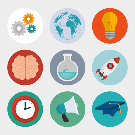 eLearning and technology education graphic design