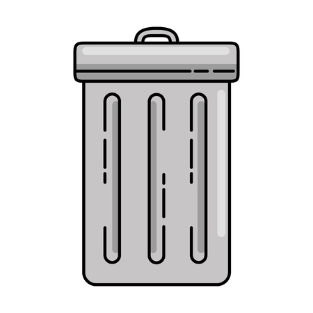 recycle bin isolated icon vector illustration design Illustration