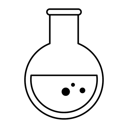 tube test flask icon vector illustration design Ilustracja