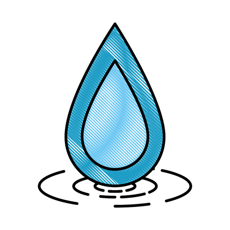 Water drop ecology icon vector illustration design.