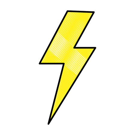 thunder ray isolated icon vector illustration design