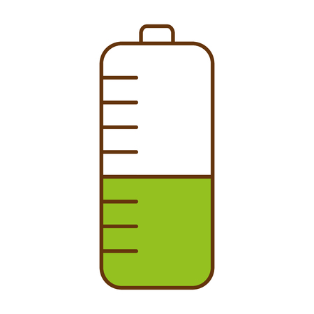 Battery power, isolated icon vector illustration design.