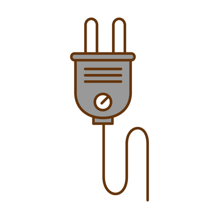 energy plug connector icon vector illustration design 写真素材 - 97869648