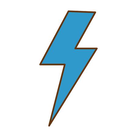 雷線隔離アイコンベクトルイラストデザイン  イラスト・ベクター素材