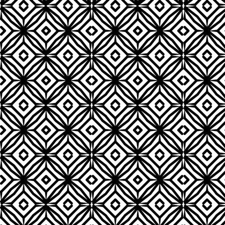 幾何学的図形 モノクロ パターン ベクトル イラストデザイン