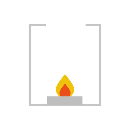 burner laboratory isolated icon vector illustration design 일러스트