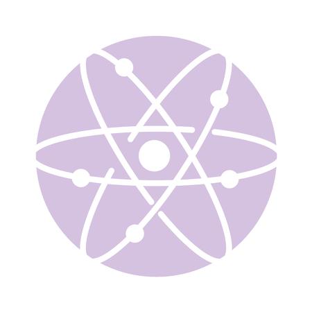 atom molecule isolated icon vector illustration design Standard-Bild - 97881610