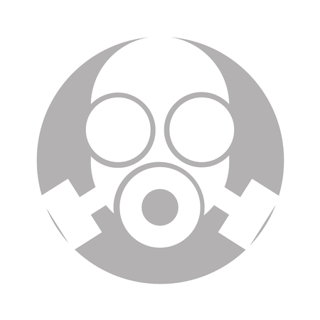 laboratory mask isolated icon vector illustration design