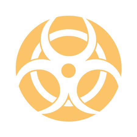 atomic caution signal icon vector illustration design 일러스트
