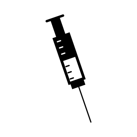 medical injection isolated icon vector illustration design Illustration