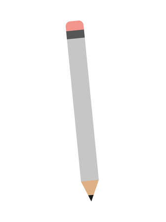 wooden pencil supply for writing vector illustration  イラスト・ベクター素材