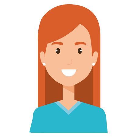 surgery woman avatar character vector illustration design Stock Illustratie