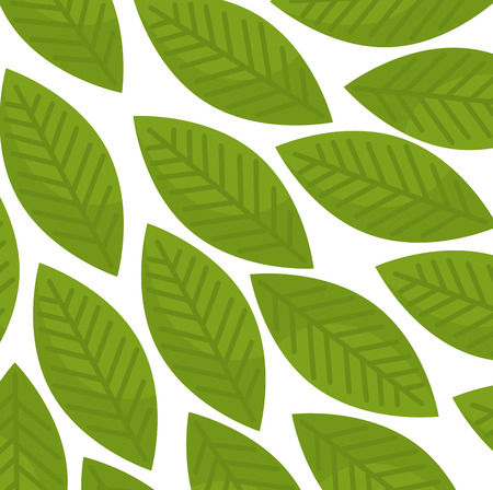leafs plant pattern background vector illustration design Illustration