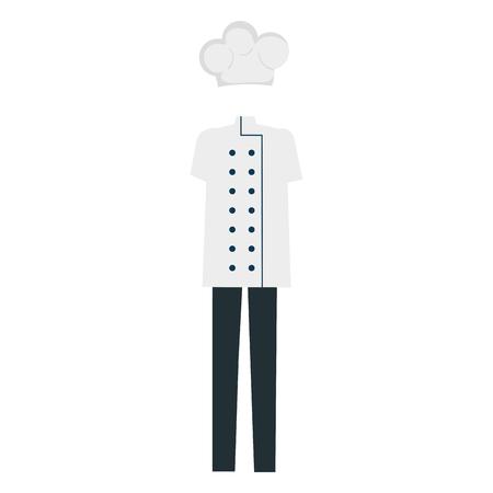 chef clothes accessory icon vector illustration design