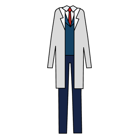 doctor custome accessory icons vector illustration design