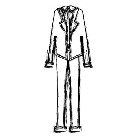businessman clothes accessory icon vector illustration design