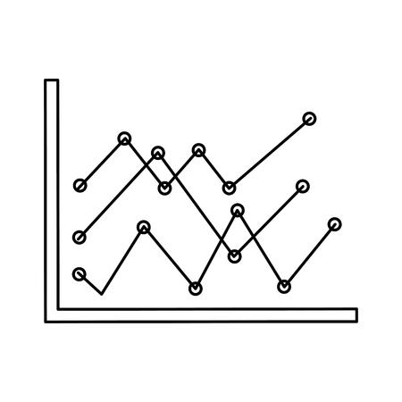 statistics infographic isolated icon vector illustration design