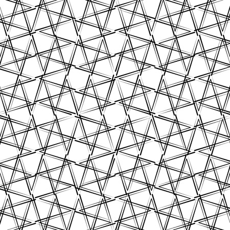 Geometric figures monochrome pattern vector illustration design. Illustration