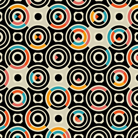 colors circles pattern background vector illustration design