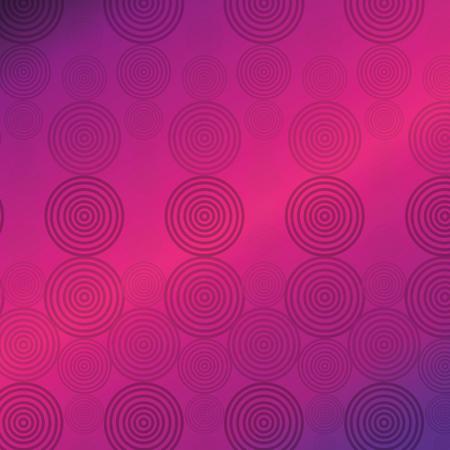 색 동그라미 패턴 배경 벡터 일러스트 레이 션 디자인 스톡 콘텐츠 - 98409160