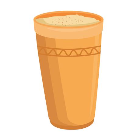 tropical drum ethnicity icon vector illustration design Stock Photo