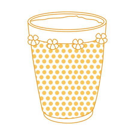 tropical drum ethnicity icon vector illustration design 일러스트