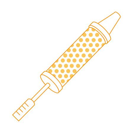 泡水スプラッシュ銃おもちゃベクトルイラストデザイン