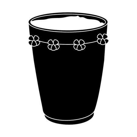 tropical drum ethnicity icon vector illustration design Stok Fotoğraf - 98406418