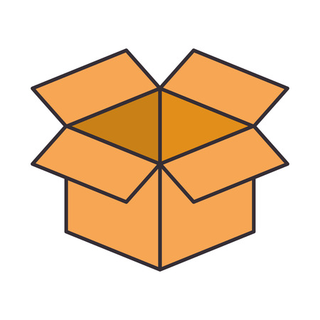 box carton isolated icon vector illustration design 版權商用圖片 - 98406518