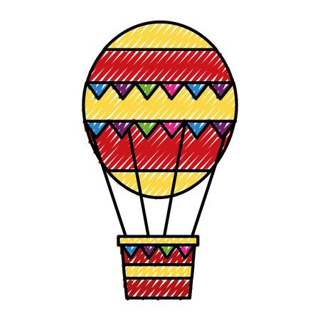 Balloon air balloon design illustration vectorielle Banque d'images - 98516828