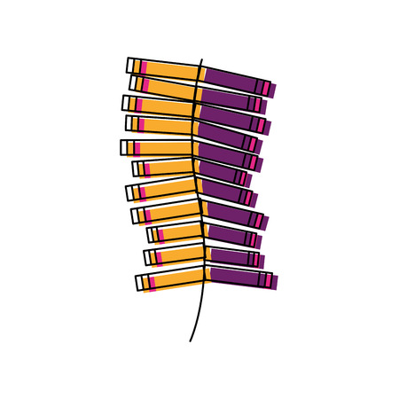 carnival firework isolated icon vector illustration design Çizim