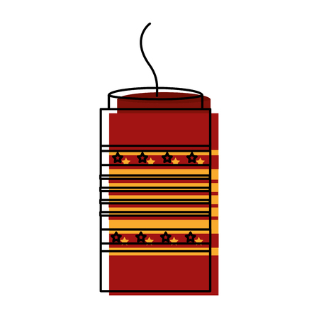 carnival firework isolated icon vector illustration design Иллюстрация