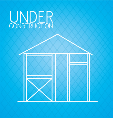 Under construction design, vector illustration eps10.