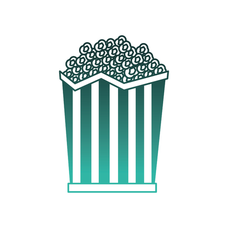 Pop corn cinema icon vector illustration design.