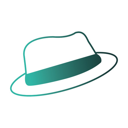 male hat hipster nstyle icon vector illustration design