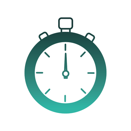chronometer timer isolated icon vector illustration design 免版税图像 - 98559550