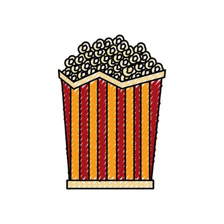 pop corn cinema icon vector illustration design