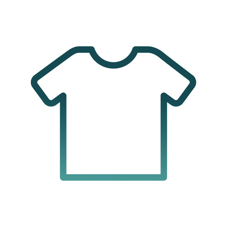 shirt clothes isolated icon vector illustration design  イラスト・ベクター素材