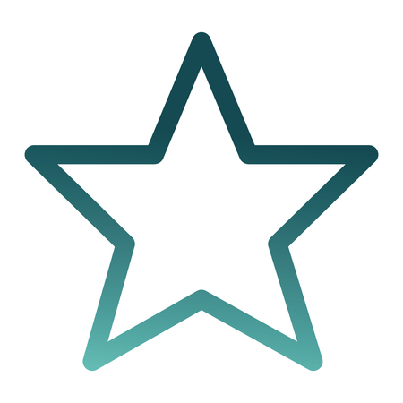 star prize award isolated icon vector illustration design
