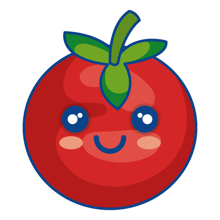 tomato vegetable healthy food vector illustration design Illustration
