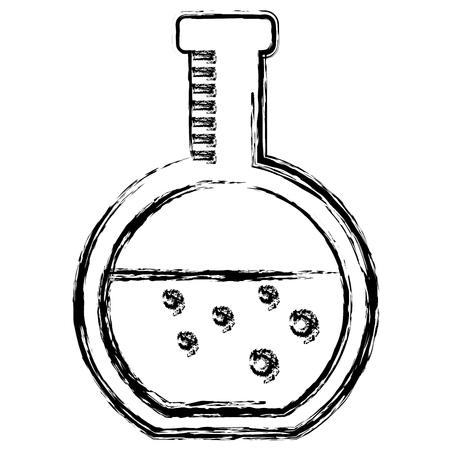 tube test flask icon vector illustration design Illustration