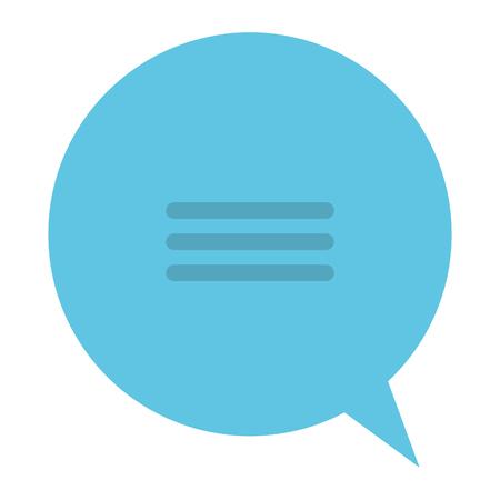 音声バブル メッセージ アイコン ベクター イラストデザイン  イラスト・ベクター素材