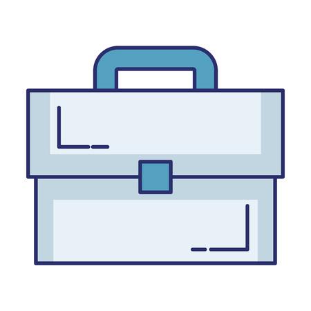 Portfolio Aktentasche isoliert Symbol Vektor-Illustration , Design , Standard-Bild - 98576048