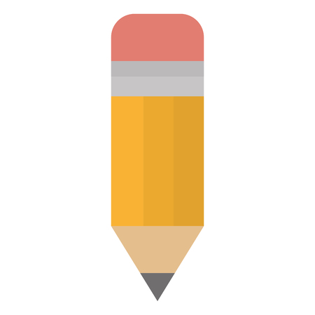 pencil graphite supply isolated icon vector illustration design
