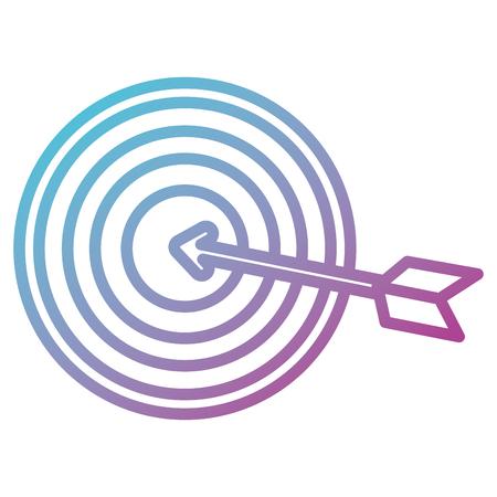 target with arrow icon vector illustration design Stok Fotoğraf - 98577268