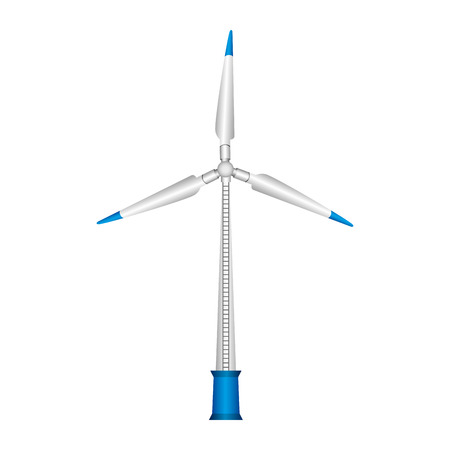 energy renewable turbine icon vector illustration design Ilustração