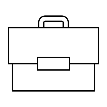 portfolio briefcase isolated icon vector illustration design Stock Illustratie
